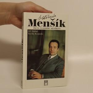 náhled knihy - Pocta Vladimíru Menšíkovi
