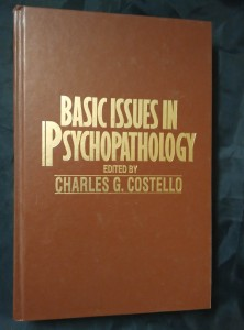 náhled knihy - Basic Issues in Psychopathology (A4, pv, 466 s.)