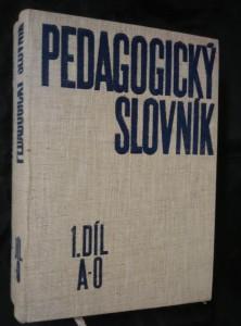 náhled knihy - Pedagogický slovník I, II (A4, Ocpl, 352 a 536 s.)