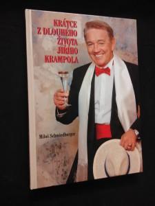 náhled knihy - Krátce z dlouhého života Jiřího Krampola (A4, lam, 176 s., foto aut.)