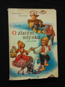 náhled knihy - O zlatém mlýnku a jiné pohádky (A4, Ocpl, 54 s., ob a il. L. Patočková)