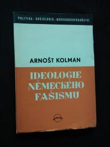 Ideologie německého fašismu (Obr, 153 s.)