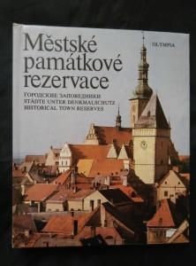 Městské památkové rezervace (lam, 205 s., 120 čb a 32 bar foto)