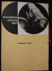 náhled knihy - Hvězdářská ročenka 1987 (A4, Obr, 268 s., 39 obr.)
