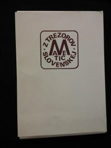 náhled knihy - Z trezorov matice slovenskej (A4, Obr, nestr., volné listy)