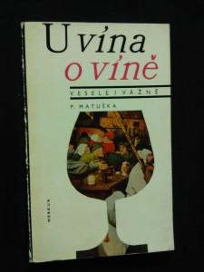 náhled knihy - U vína o víně - vesele i vážně (Obr, 119 s.)