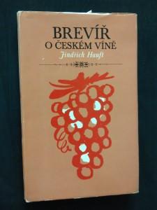 náhled knihy - Brevíř o českém víně (Ocpl, 171 s., il. K. Míšek)