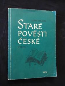 Staré pověsti české (Obr, 192 s., frontispice M. Aleš )