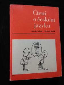 náhled knihy - Čtení o českém jazyku (Obr, 302 s., il. M. Nesvadba)