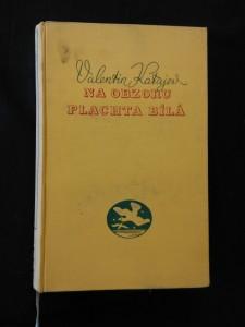 náhled knihy - Na obzoru plachta bílá (Ocpl, 288 s., bez přeb.)