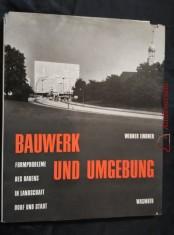náhled knihy - Bauwerk und Umgebung (formprobleme des bauens)