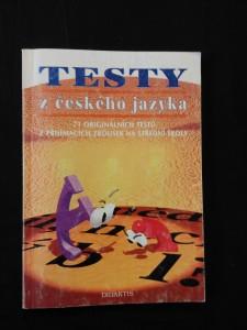 náhled knihy - Testy z českého jazyka - 71 originálních testů z přijímacích zkoušek na střední školy (Obr, 87 s.)