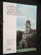 náhled knihy - Církevní stavby (A4, lam, 168 s., čb a bar foto, il.)