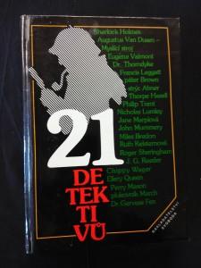 náhled knihy - 21 detektivů (lam, 351 s.)