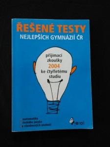 náhled knihy - Řešené testy nejlepších gymnázií ČR (Obr, 174 s.)