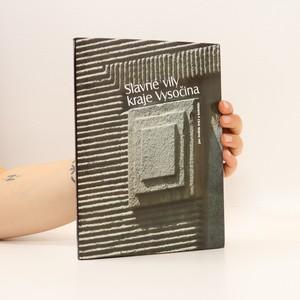 náhled knihy - Slavné vily kraje Vysočina
