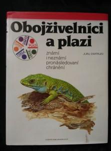 náhled knihy - Obojživelníci a plazi (A4, Ocpl, 168 s., il. K. Hísek, A. Čepická ad.)