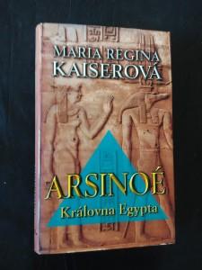 náhled knihy - Arsinoé Královna Egypta (pv, 320 s.)