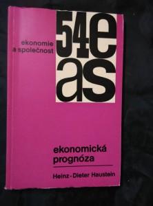 náhled knihy - Ekonomická prognóza - Ekonomie a společnost (Obr., 240 s.)