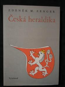 náhled knihy - Česká heraldika (Ocpl, 155 s., il. Z. M. Zenger)