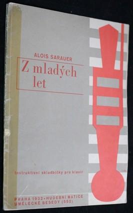 náhled knihy - Z mladých let : instruktivní skladbičky pro klavír
