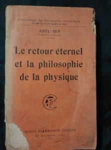 náhled knihy - Le retour éternel et la philosophie de la physigue (Obr, 322 s.)