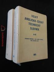 Velký anglicko-český technický slovník I, II (A4, Ocpl, 928 a 1192 s.)