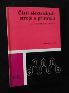 náhled knihy - Části elektrických strojů a přístrojů pro 2. roč. SPŠE