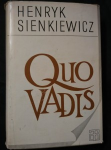 náhled knihy - Quo vadis? (Ocpl, 502 s.)