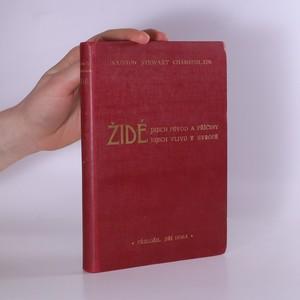 náhled knihy - Židé, jejich původ a příčiny jejich vlivu v Evropě (s věnováním)