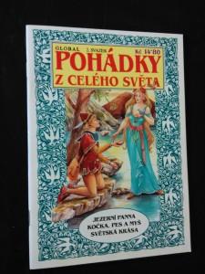 Pohádky z celého světa - Jezerní panna/ Kočka, pes a myš/ Světská krása (Obr., 32 s.)
