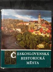 Československá historická města (A4, 568 s. vč. Vyobr.)