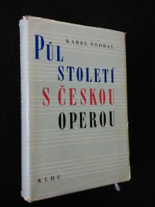 náhled knihy - Půl století s českou operou (Ocpl, 415 s.)