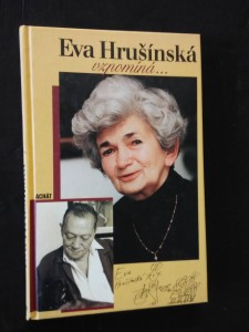náhled knihy - Eva Hrušínská vzpomíná (pv, 119 s.)