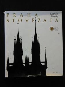 náhled knihy - Praha stověžatá (Ocpl, nestr., + příl.)