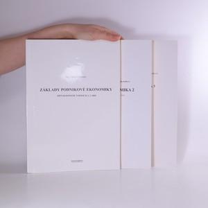 náhled knihy - Základy podnikové ekonomiky. Podniková ekonomika 2. Podniková ekonomika 3 (3 svazky)