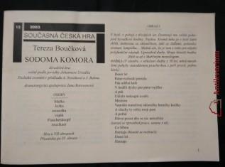 náhled knihy - Sodoma komora (Obr, 32 s.)