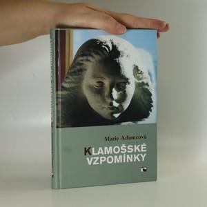 náhled knihy - Klamošské vzpomínky (věnování autorky)