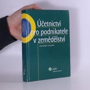 náhled knihy - Účetnictví pro podnikatele v zemědělství