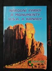 náhled knihy - Národní parky a monumenty U.S.A. a Kanady (lam, 96 s., bar foto)