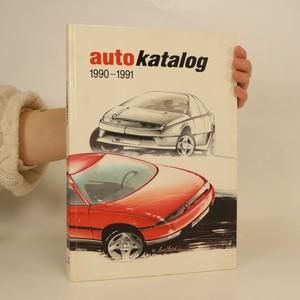 náhled knihy - Autokatalog 1990-1991