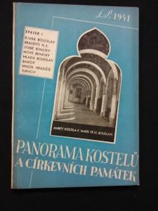 náhled knihy - Panorama kostelů a církevních památek