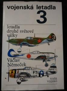 Vojenská letadla 3 - Letadla druhé světové války (Ocpl., 341 s.)