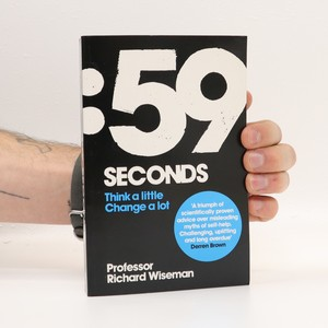 náhled knihy - 59 seconds. Think a little. Change a lot
