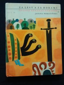 náhled knihy - Za lesy a za horami - Polské národní pohádky (A4, lam, 144 s., ob a il. Z. Mlčoch)