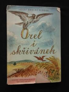 náhled knihy - Orel i skřivánek (A4, Oppl, 120 s.,  ob a il. Václav Karel)