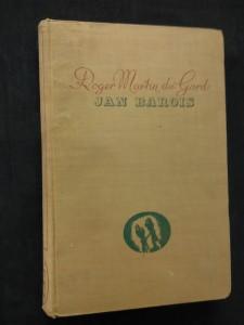 náhled knihy - Jean Barois (Ocpl, 280 s., vaz a typo J. Štyrský, b. ob.)