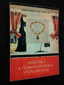 náhled knihy - Sovětská a československá vyznamenání (Obr, 144 s.)