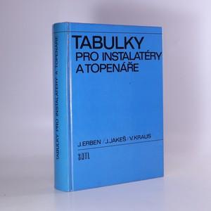 náhled knihy - Tabulky pro instalatéry a topenáře