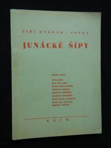 náhled knihy - Junácké šípy (Obr, 64 s.,  il. V. Dlouhý)